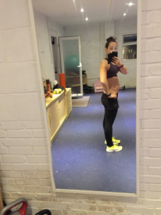 Me at 15 weeks. Here come the curves....